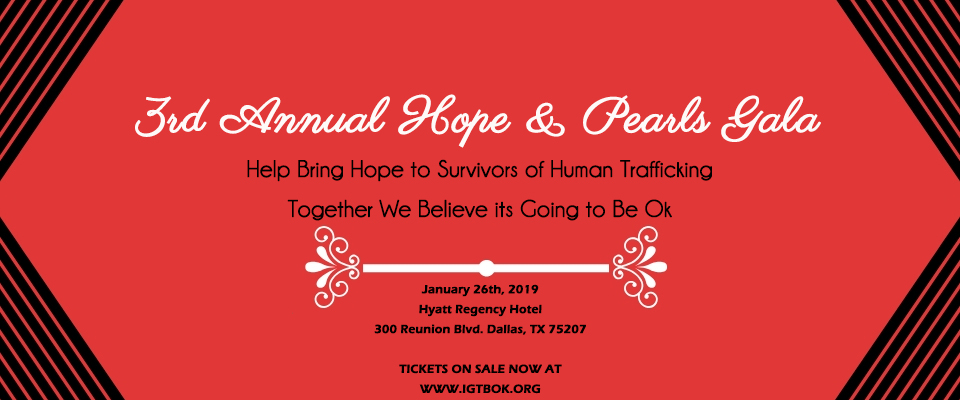 3rd Annual Hope & Pearls Gala