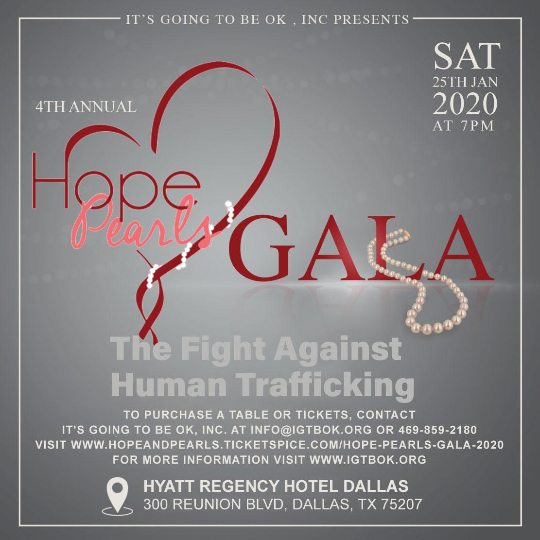 Hope & Pearls Gala 2018